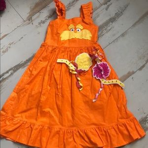 Other - Custom Lorax dr Seuss dress sz 5/6